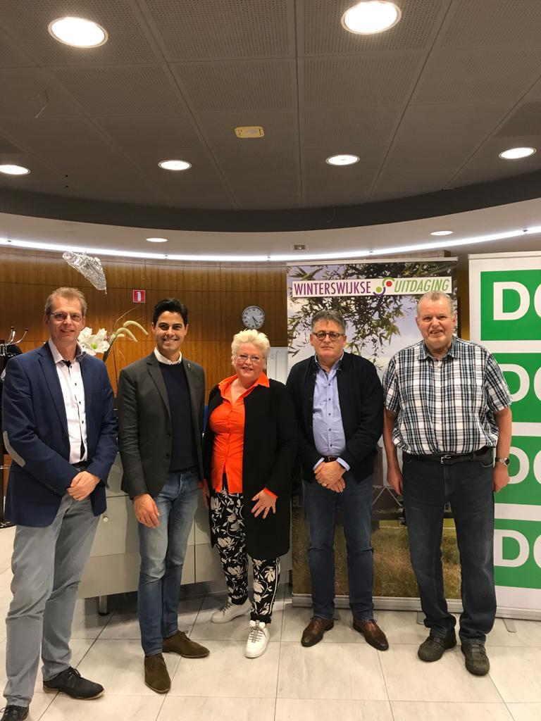 Tweede Kamerfractie D66 bezoekt symposium bij de Wuh